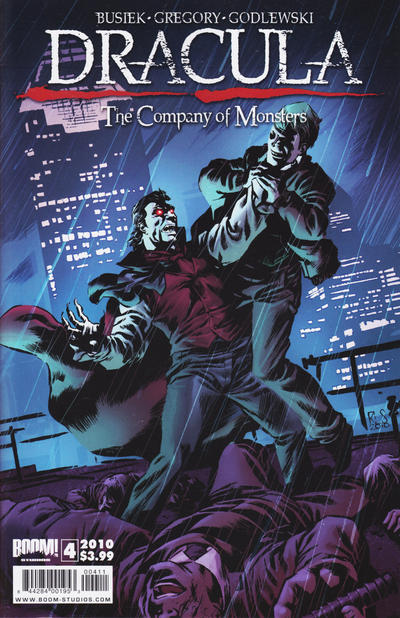 Cover for Dracula: The Company of Monsters (Boom! Studios, 2010 series) #4