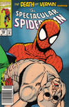 Cover Thumbnail for The Spectacular Spider-Man (1976 series) #196 [newsstand]