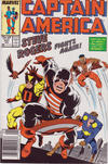 Cover for Captain America (Marvel, 1968 series) #337 [Newsstand]