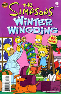 Cover Thumbnail for The Simpsons Winter Wingding (Bongo, 2006 series) #5
