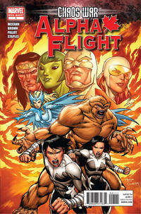 Cover Thumbnail for Chaos War: Alpha Flight (Marvel, 2011 series) #1