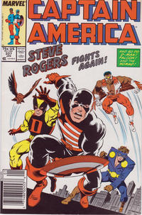 Cover Thumbnail for Captain America (Marvel, 1968 series) #337 [Newsstand Edition]