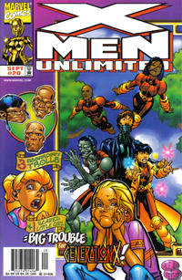 Cover Thumbnail for X-Men Unlimited (Marvel, 1993 series) #20 [Newsstand Edition]