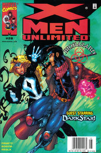 Cover Thumbnail for X-Men Unlimited (Marvel, 1993 series) #28 [Newsstand Edition]