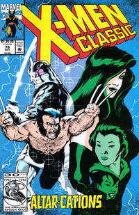 Cover Thumbnail for X-Men Classic (Marvel, 1990 series) #76 [Direct]