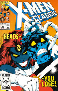 Cover Thumbnail for X-Men Classic (Marvel, 1990 series) #81 [Direct]