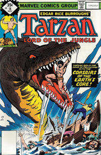 Cover Thumbnail for Tarzan (Marvel, 1977 series) #18 [non-newsstand bagged]