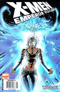 Cover Thumbnail for X-Men: Emperor Vulcan (Marvel, 2007 series) #4 [Newsstand Edition]