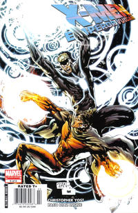 Cover Thumbnail for X-Men: Emperor Vulcan (Marvel, 2007 series) #5 [Newsstand Edition]