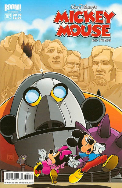 Cover for Mickey Mouse and Friends (Boom! Studios, 2009 series) #302
