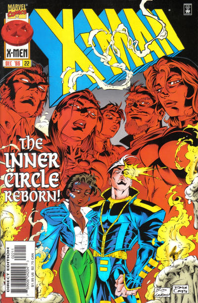 Cover for X-Man (Marvel, 1995 series) #22 [Newsstand]