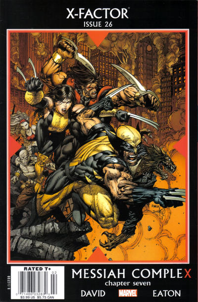 Cover for X-Factor (Marvel, 2006 series) #26 [Newsstand Edition]