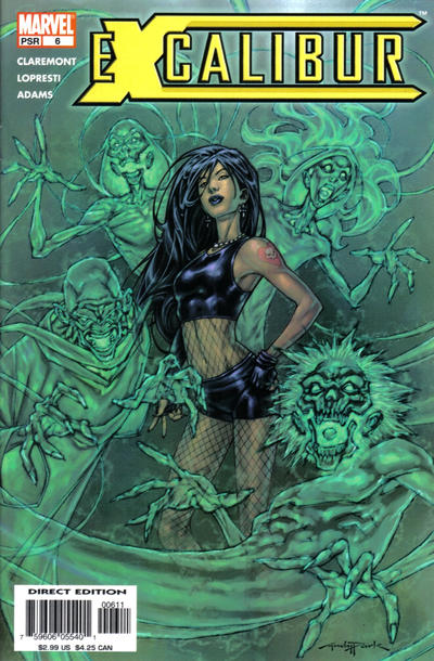 Cover for Excalibur (Marvel, 2004 series) #6 [Newsstand]