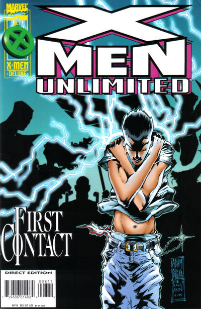 Cover for X-Men Unlimited (Marvel, 1993 series) #8 [Direct Edition]