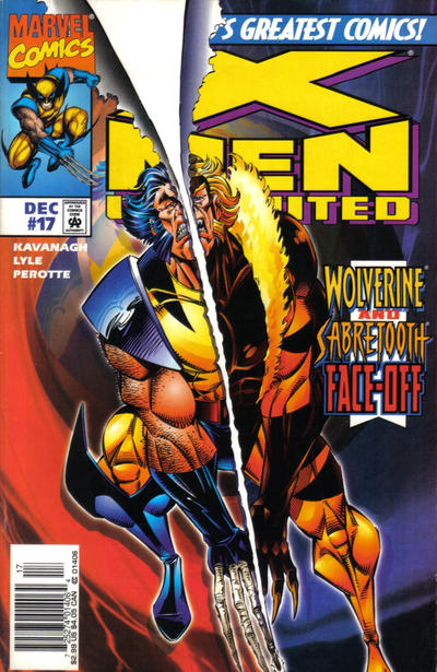 Cover for X-Men Unlimited (Marvel, 1993 series) #17 [Direct Edition]