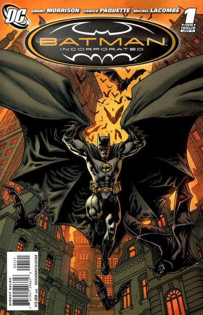 Cover for Batman, Inc. (DC, 2011 series) #1 [Yanick Paquette Variant Sketch Cover]