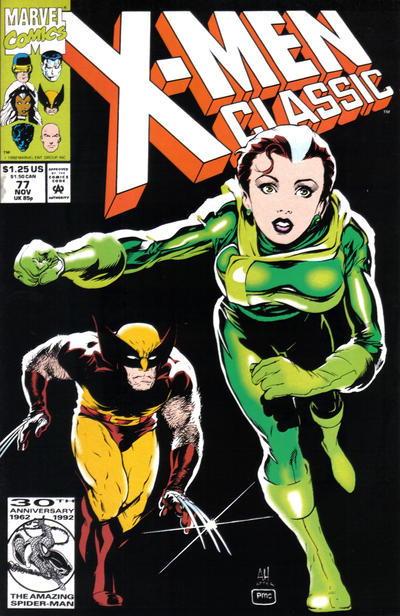 Cover for X-Men Classic (Marvel, 1990 series) #77 [Newsstand]