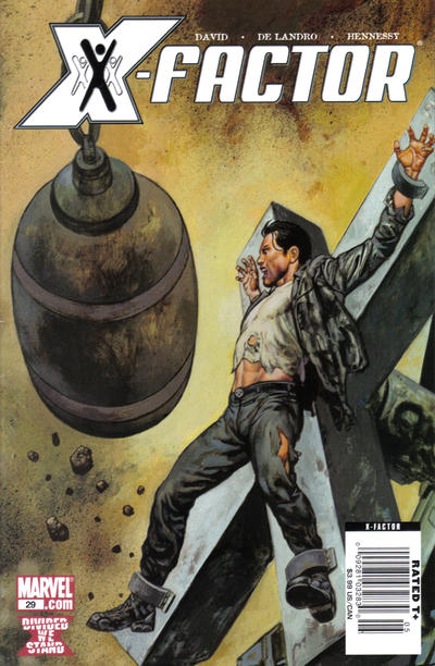 Cover for X-Factor (Marvel, 2006 series) #29 [Newsstand Edition]