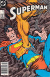 Cover for Superman (DC, 1987 series) #7 [Newsstand]