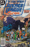 Cover for Justice League Europe (DC, 1989 series) #8 [Newsstand]