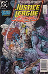Cover for Justice League Europe (DC, 1989 series) #7 [Newsstand]
