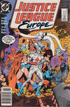 Cover for Justice League Europe (DC, 1989 series) #3 [Newsstand]