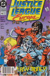 Cover for Justice League Europe (DC, 1989 series) #10 [Newsstand]
