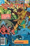 Cover for Star Trek (DC, 1984 series) #17 [Newsstand]