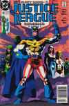 Cover for Justice League America (DC, 1989 series) #47 [Newsstand]