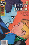 Cover Thumbnail for Justice League International (1987 series) #18 [Newsstand]