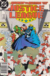 Cover Thumbnail for Justice League (1987 series) #3 [Newsstand]