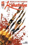 Cover for Blade of the Warrior: Kshatriya (Virgin, 2008 series) #1 [Variant Cover]