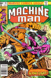 Cover for Machine Man (Marvel, 1978 series) #18 [Newsstand]