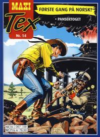 Cover Thumbnail for Maxi Tex (Hjemmet / Egmont, 2008 series) #14 - Pansertoget