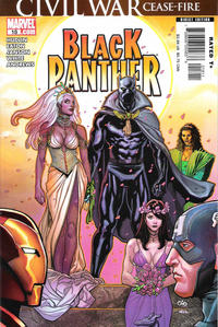 Cover Thumbnail for Black Panther (Marvel, 2005 series) #18 [Direct Edition]