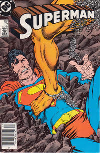 Cover Thumbnail for Superman (DC, 1987 series) #7 [Newsstand]