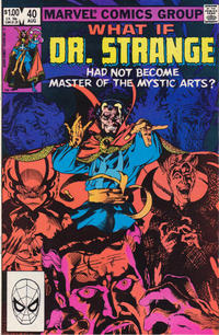 Cover Thumbnail for What If? (Marvel, 1977 series) #40 [Direct]