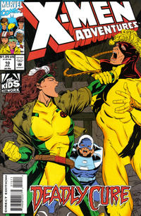 Cover Thumbnail for X-Men Adventures (Marvel, 1992 series) #10 [Direct Edition]