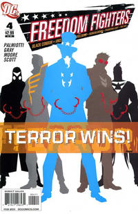 Cover Thumbnail for Freedom Fighters (DC, 2010 series) #4