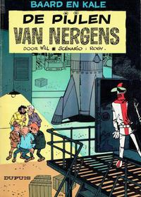 Cover Thumbnail for Baard en Kale (Dupuis, 1954 series) #10 - De pijlen van Nergens [Eerste druk]