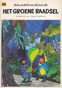 Cover Thumbnail for Baard en Kale (Dupuis, 1954 series) #14 - Het groene raadsel