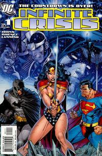 Cover Thumbnail for Infinite Crisis (DC, 2005 series) #1 [Jim Lee / Sandra Hope Cover]