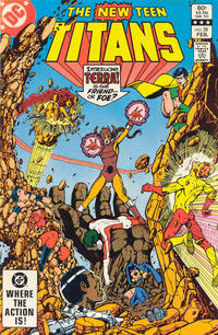 Cover Thumbnail for The New Teen Titans (DC, 1980 series) #28 [Direct-Sales]