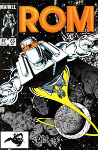 Cover Thumbnail for ROM (Marvel, 1979 series) #66 [Direct Edition]