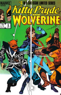 Cover Thumbnail for Kitty Pryde and Wolverine (Marvel, 1984 series) #6 [Direct Edition]