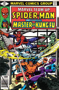 Cover Thumbnail for Marvel Team-Up (Marvel, 1972 series) #84 [Direct Edition]