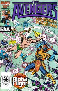 Cover Thumbnail for The Avengers (Marvel, 1963 series) #272 [Direct]