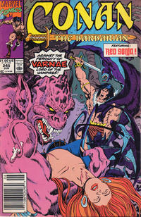 Cover Thumbnail for Conan the Barbarian (Marvel, 1970 series) #245 [Newsstand]