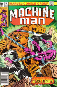 Cover Thumbnail for Machine Man (Marvel, 1978 series) #18 [Newsstand]