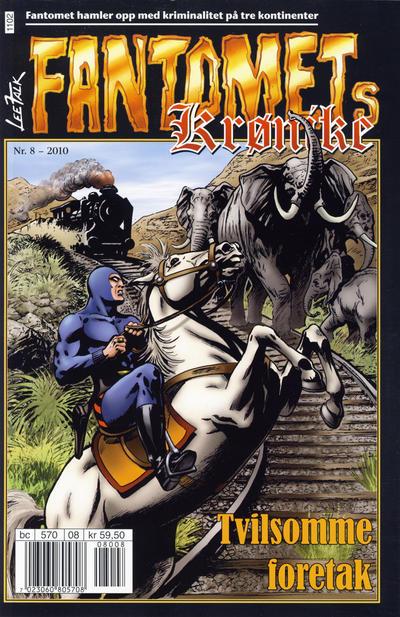 Cover for Fantomets krønike (Hjemmet / Egmont, 1998 series) #8/2010